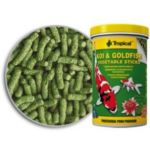 Koi & Goldfish Vegetable Sticks Tropical Hrana za Ribice