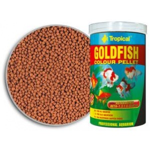 Goldfish Colour Pellet Tropical Hrana za Ribice