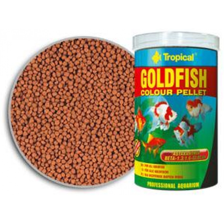 Goldfish Colour Pellet Tropical Hrana za Ribice
