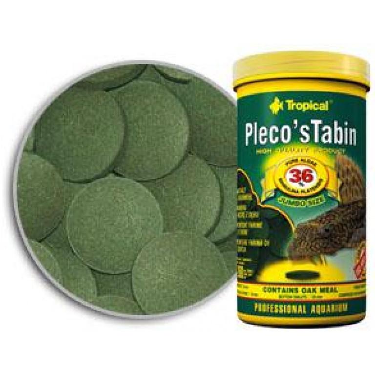 Pleco Tabin sa 36% Spiruline Tropical Tablete i Vafersi