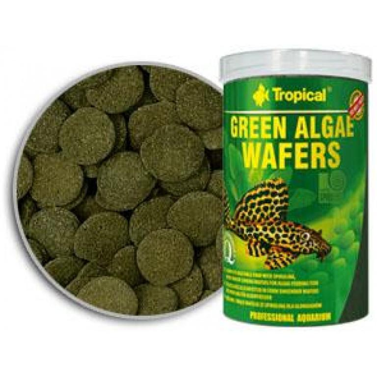 Green Algae Wafers Tropical Tablete i Vafersi