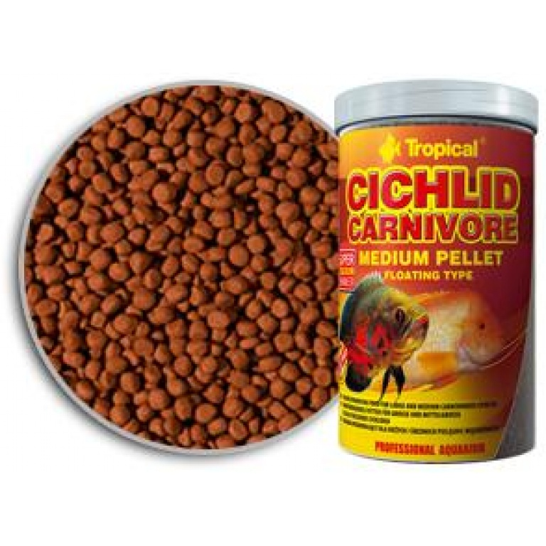 Cichlid Carnivore Medium Pellet Tropical Hrana za Ribice