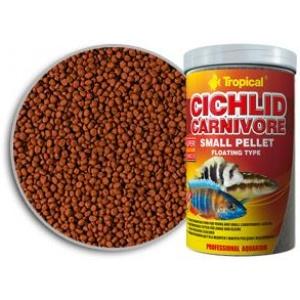 Cichlid Carnivore Small Pellet Tropical Hrana za Ribice