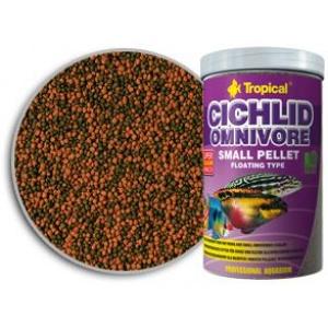 Ciklidi Omnivore Small Pellet Tropical Hrana za Ribice