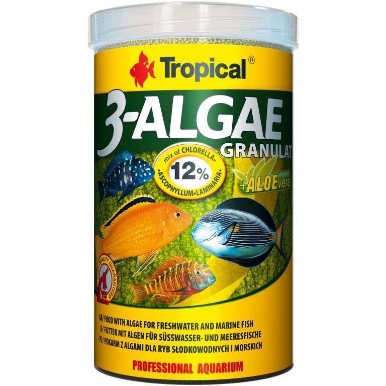 Tropical 3-Algae Granulat 1000ml