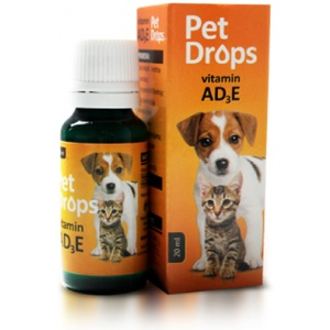 Pet drops 20ml -AD kapi za pse i mačke