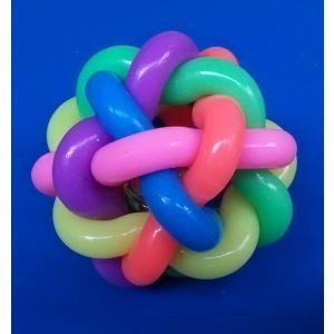 Igračka lopta čvor šarena 8.5cm