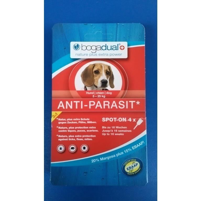 BOGACARE Antiparazitske Pipete za Srednje Pse 5-25kg-1.5ml