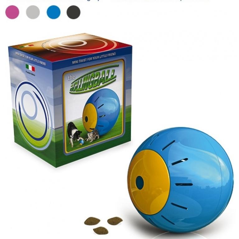 Lopta igračka za hranu u kartonu 12.5cm