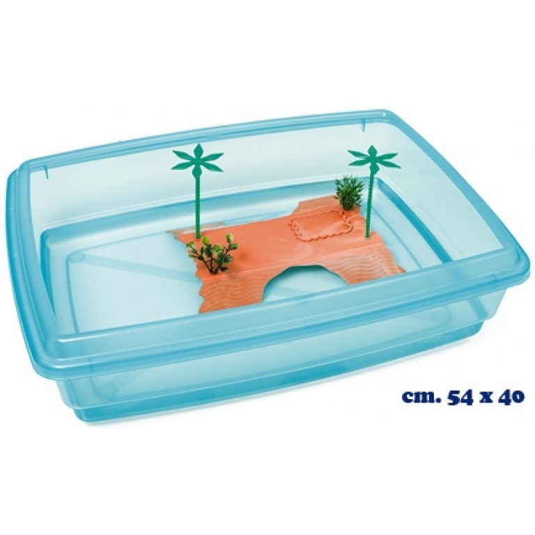 Terarijum plastični za kornjače 54*40cm
