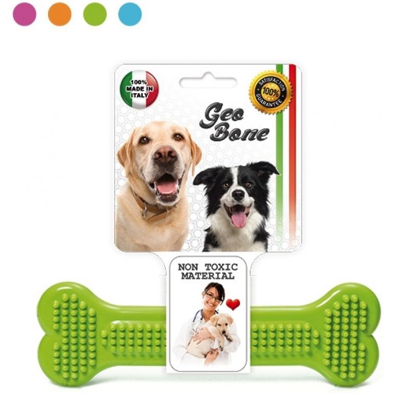 Igracka za pse u obliku kosti 10x3 cm