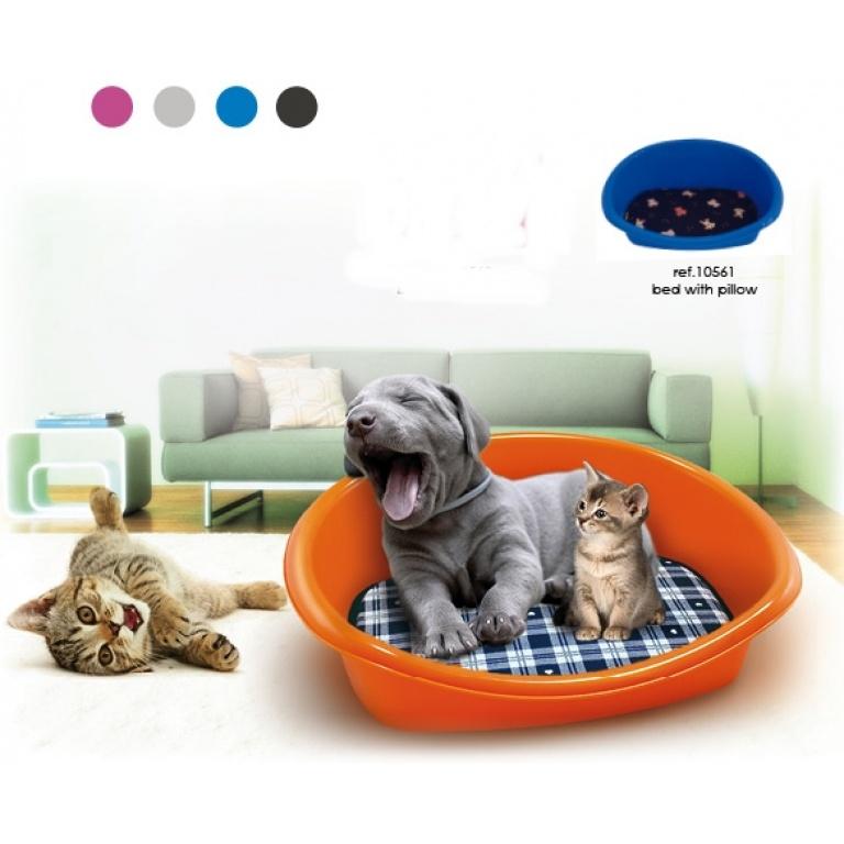 Ležaljka za mačke sa jastukom 46*35*18cm