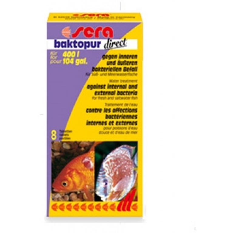 Sera Bactopur 8tableta za 400 litara vode