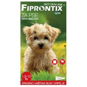 Fiprontix: Ampule protiv kožnih parazita za male rase Firprontix Spot On, 7 x 1ml