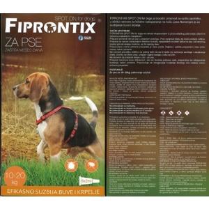 Fiprontix: Ampule protiv kožnih parazita za srednje rase Firprontix Spot On, 1kom x 2ml (Default)Nazad Reset Brisanje Duplicate Snimiti Snimite i nastavite sa izmenom