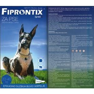 Fiprontix: Ampule protiv kožnih parazita za velike rase Firprontix Spot On, 1komad x 4ml