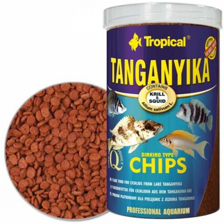 Tropical Tanganyika Chips 1000ml