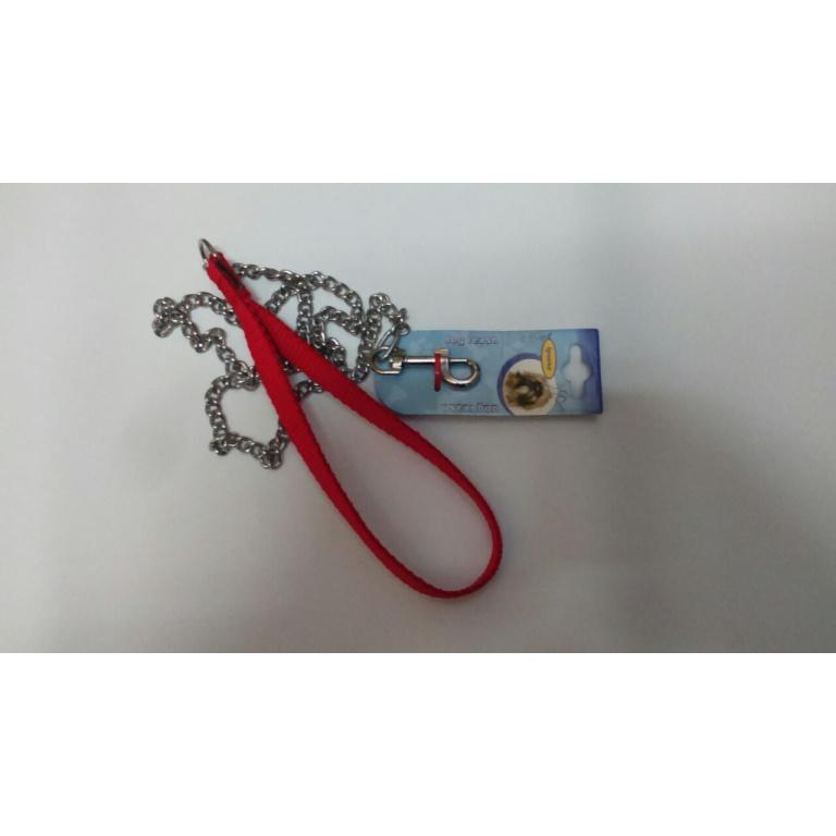 Povodnik lančani 2,0x1000mm sa najlonom rukohvatom
