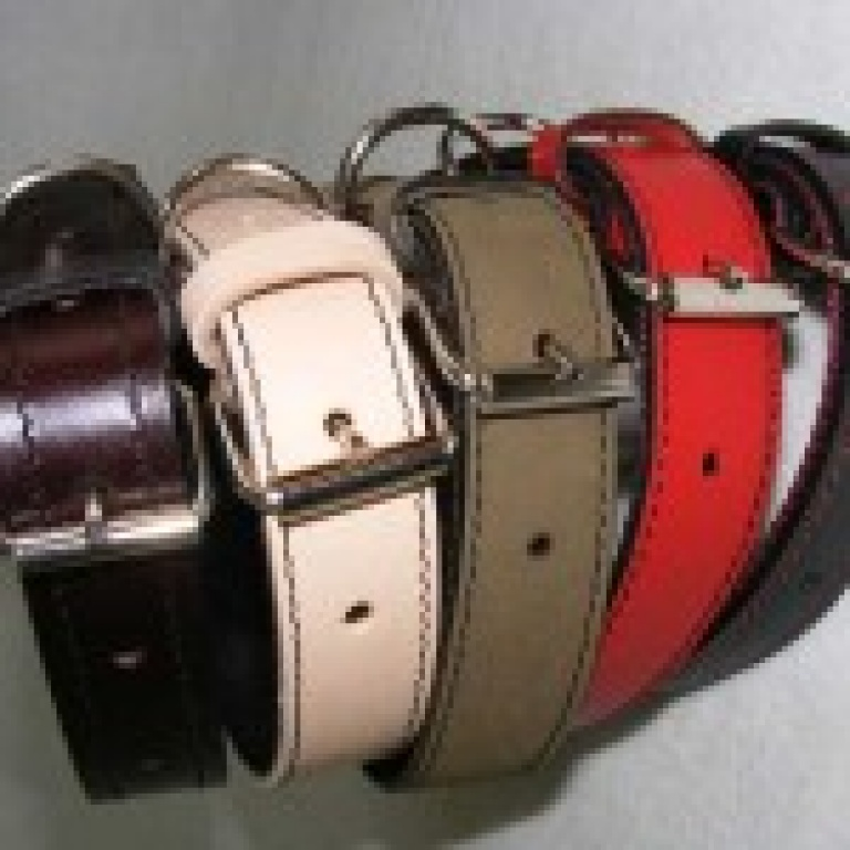 Ogrlica od kože G 30x60