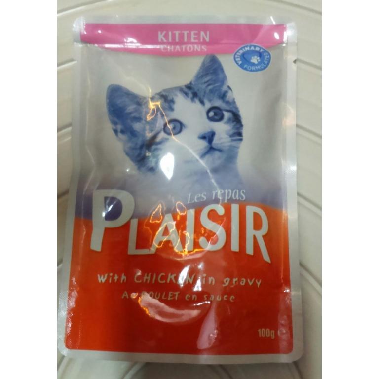 Plaisir sos za mačiće piletina100 gr