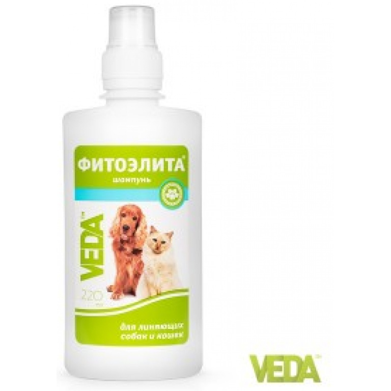 FITOELITA šampon protiv opadanja dlake pasa i mačaka