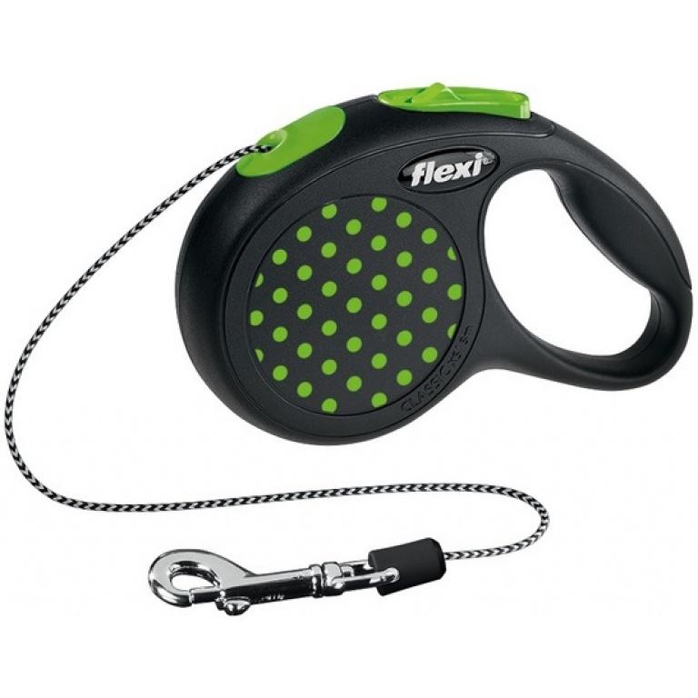 Flexi Desing XS green 3m