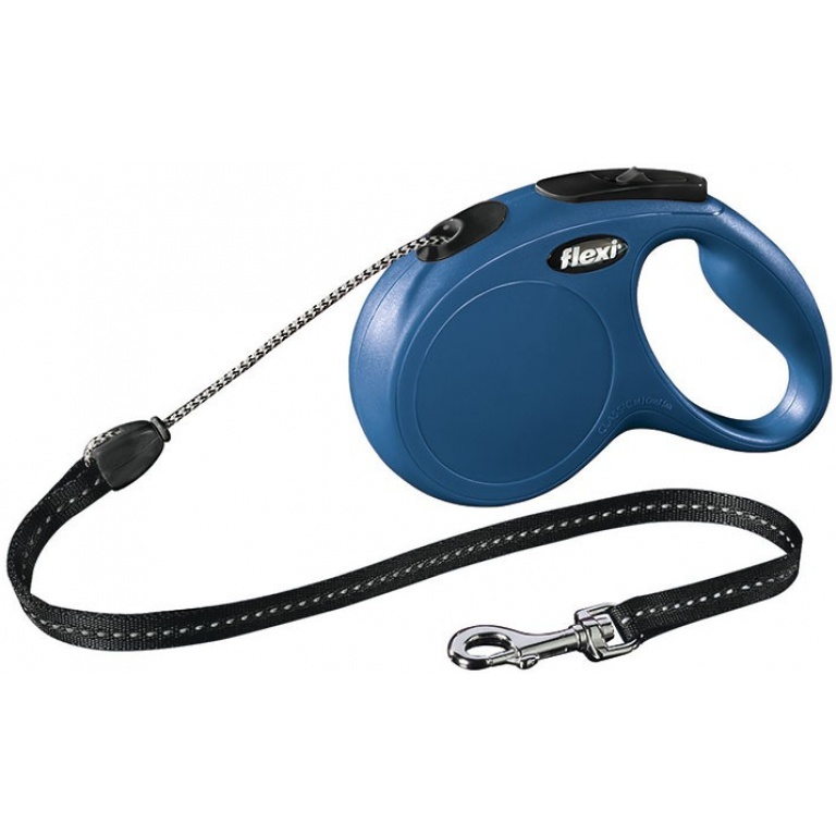 Flexi New classic M blue 5m uže