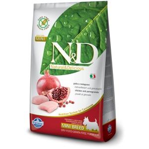 N&D mini adult chicken&pomegranate 1kg