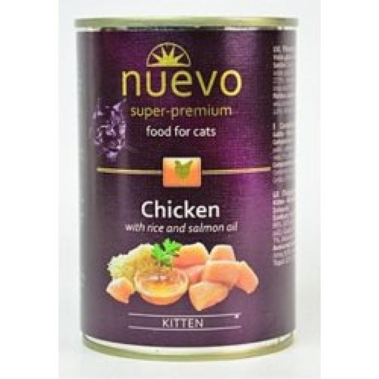 Nuevo kitten piletina,pirinač,ulje lososa 200gr