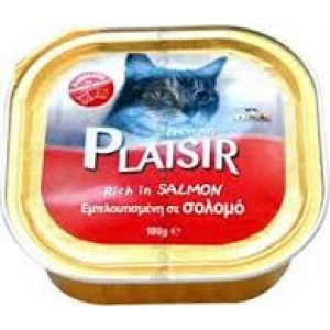 Plaisir pašteta za mace-losos 100 gr