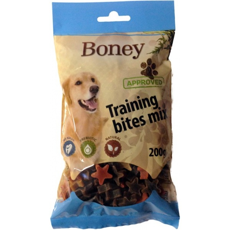 boney training bite