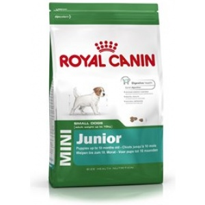 ROYAL CANIN Briketi za štenad Mini JUNIOR, 2-10 meseci