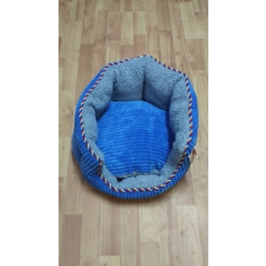 somotski krevetić za mace-plavi