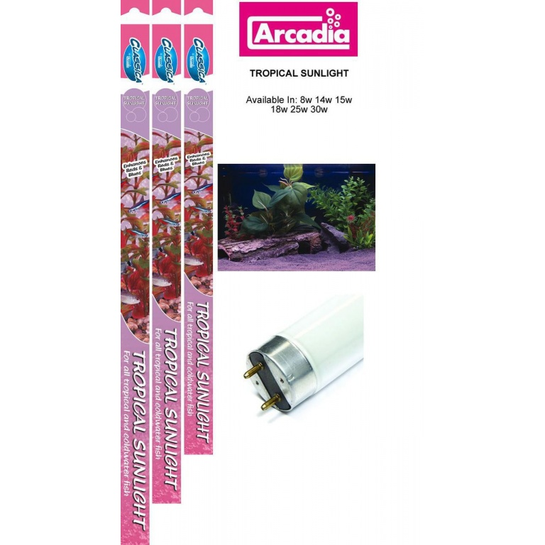 Classica Arcadia Tropical Sunlight T8-18w,600mm