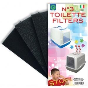Filteri rezervni za maciji toalet 3 kom
