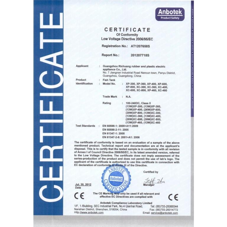 Akvarijumi Leecom HP 400 (30 litara)