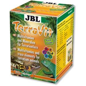 JBL TerraVit Powder-Vitamini i elementi u tragovima za terarijumske životinje 100gr