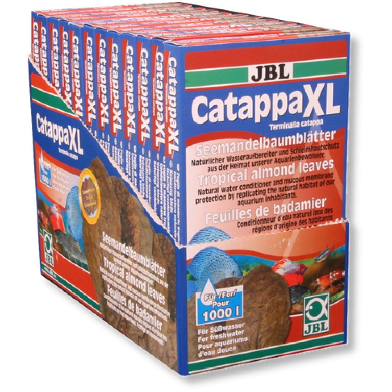 JBL Catappa XL-Tropski badem za slatkovodne akvarijume XL