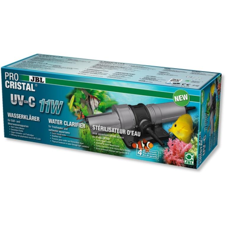 JBL ProCristal UV-C 11W UV-C Pro-čistač za brzo uklanjanje zamućenja vode