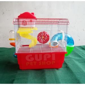 Kavez za hrčka sa opremom