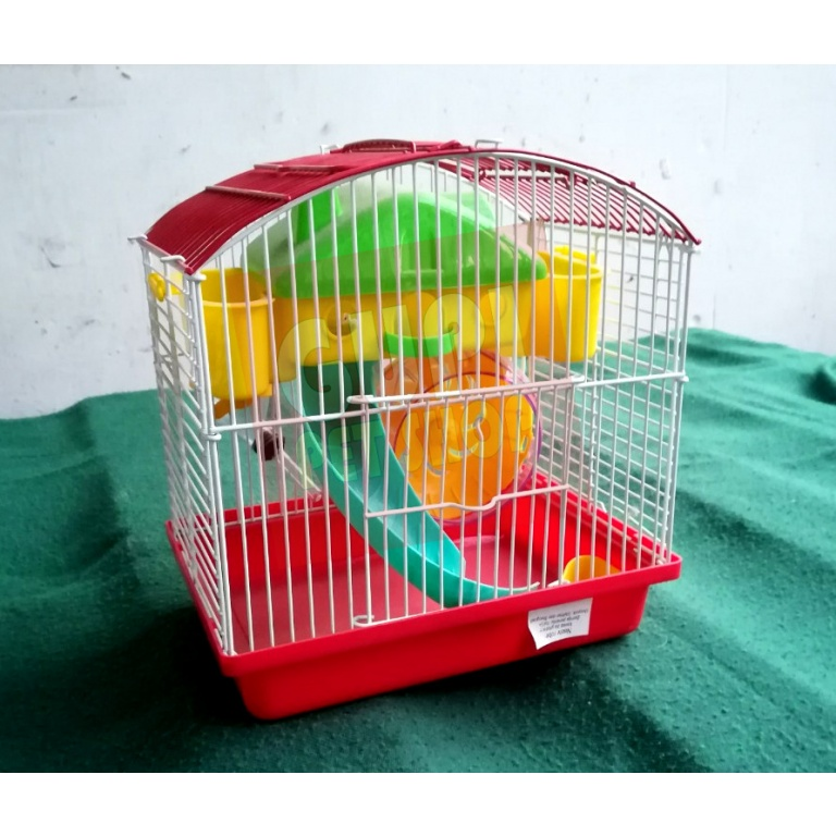 Kavez za hrcka sa opremom