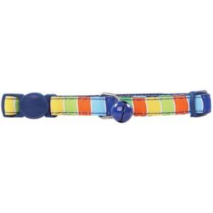Oglica za macke Stripe- blue 20-30 cm