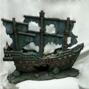 Dekoracija za akvarijume Piratski brod
