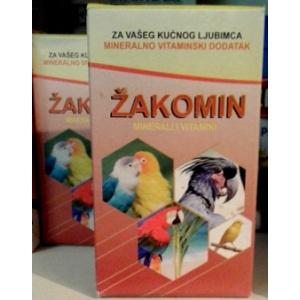 Mineralno vitaminski dodatak za ptice Žakomin 100gr
