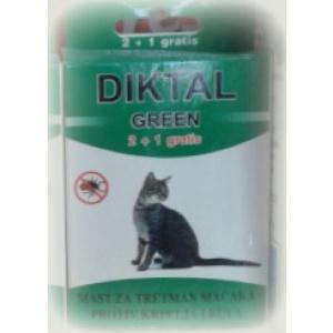 Diktal Green mast za tretman macaka protiv buva i krpelja