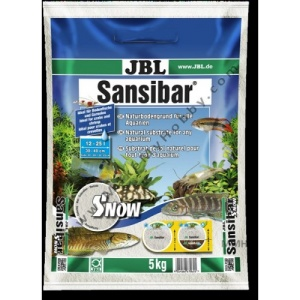 JBL SANSIBAR SNOW 5kg-Snježno bijeli supstrat za slatkovodne i morske akvarijume i akva-terarijume